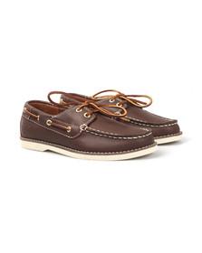 Timberland Boys Brown Seabury Boat Shoe