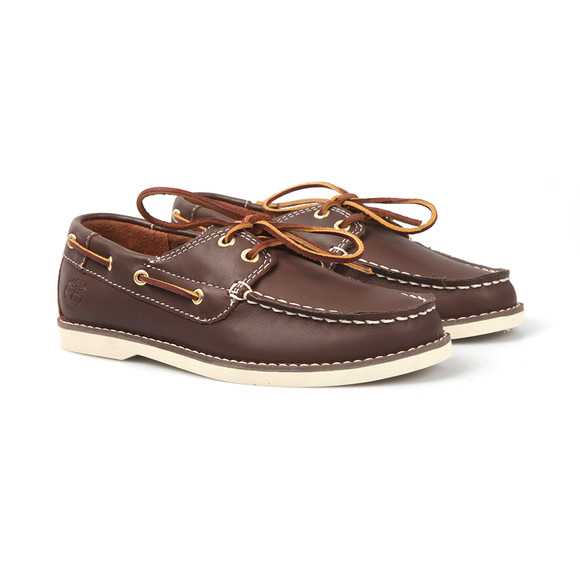 Timberland Boys Brown Seabury Boat Shoe main image