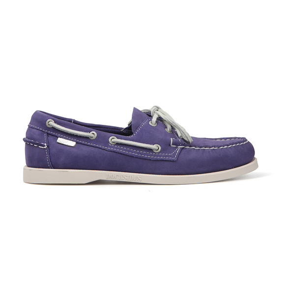 Sebago Mens Blue Dockside Boat Shoe main image