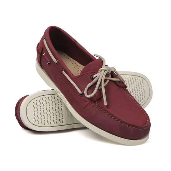 Sebago Mens Red Dockside Boat Shoe main image