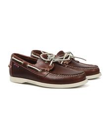 Sebago Mens Brown Dockside Boat Shoe