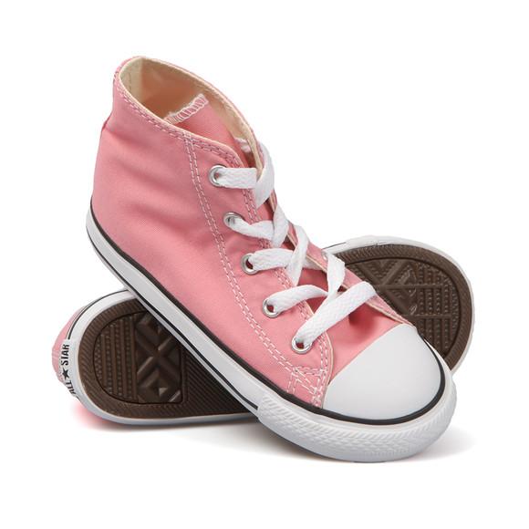 Converse Unisex Pink Kids All Star Hi main image