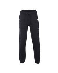 Money Mens Blue Melange Track Bottoms
