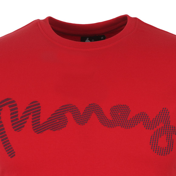 Money Mens Red High Build Sig Ape T Shirt main image