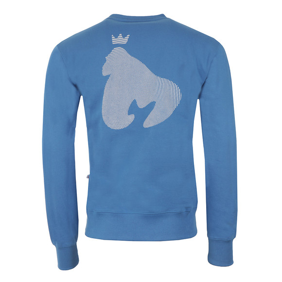 Money Mens Blue High Build Sig Ape Crew Sweatshirt main image