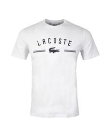 Lacoste Mens White T-Shirt TH8119