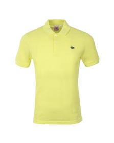 Lacoste Live Mens Yellow Plain Polo Shirt PH0587