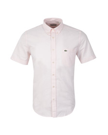 Lacoste Mens Pink S/S CH2294 Shirt