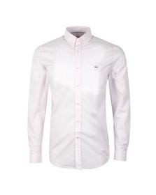 Lacoste Mens Pink CH0222 LS Shirt