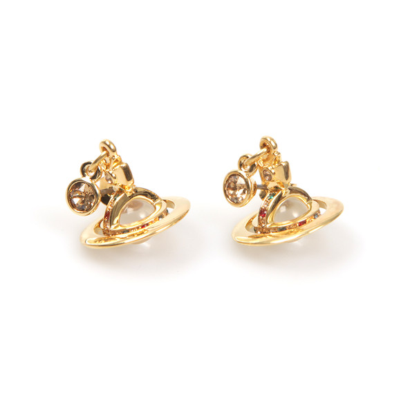 Vivienne Westwood Womens Gold Petite Orb Earring main image