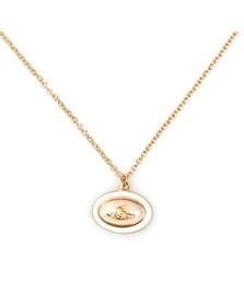 Vivienne Westwood Womens Gold Dalia Pendant