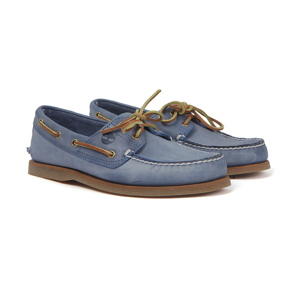Timberland Mens Blue Classic 2Eye Boat Shoe main image