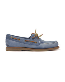 Timberland Mens Blue Classic 2Eye Boat Shoe