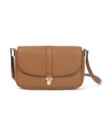 Michael Kors Womens Brown Charlton Crossbody Bag