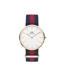Daniel Wellington Unisex Pink Classic Oxford 40mm Watch
