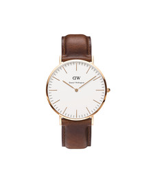 Daniel Wellington Unisex Pink Classic St Mawes 40mm Watch