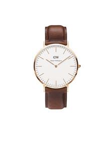 Daniel Wellington Unisex Pink Classic St Mawes 40mm Watch