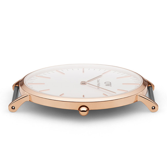 Daniel Wellington Unisex Pink Classic St Mawes 40mm Watch main image