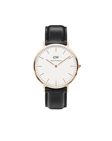 Daniel Wellington Unisex Pink Classic Sheffield 40mm Watch
