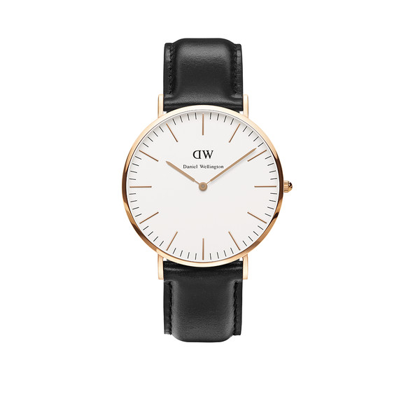 Daniel Wellington Unisex Pink Classic Sheffield 40mm Watch main image