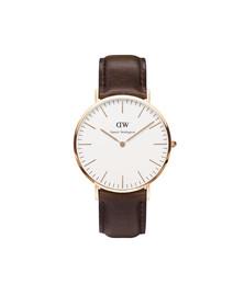 Daniel Wellington Unisex Pink Classic Bristol 40mm Watch