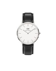 Daniel Wellington Unisex Silver Classic Sheffield 40mm Watch