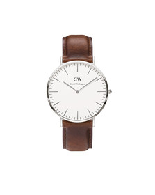 Daniel Wellington Unisex Silver Classic St Mawes 40mm Watch