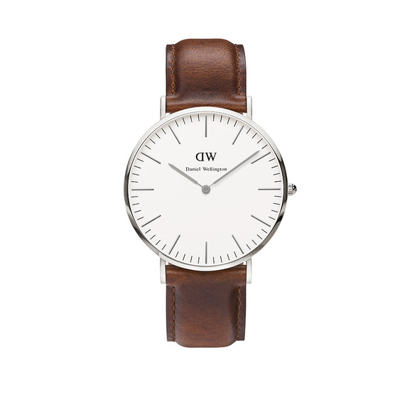 Daniel Wellington Unisex Silver Classic St Mawes 40mm Watch main image
