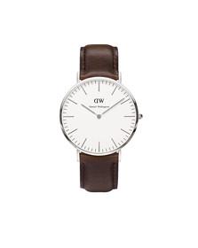 Daniel Wellington Unisex Grey Classic Bristol 40mm Watch