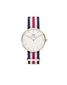 Daniel Wellington Unisex Pink Classic Canterbury 36mm Watch