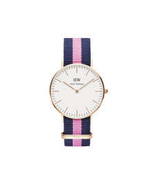 Daniel Wellington Unisex Pink Classic Winchester 36mm Watch