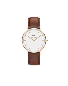 Daniel Wellington Unisex Pink Classic St. Mawes 36mm Watch