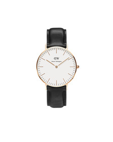 Daniel Wellington Unisex Pink Classic Sheffield 36mm Watch