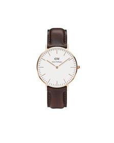 Daniel Wellington Unisex Pink Classic Bristol 36mm Watch