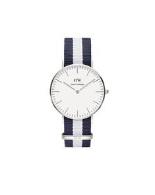 Daniel Wellington Unisex Grey Classic Glasgow 36mm Watch