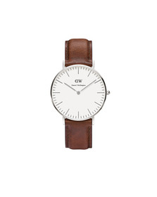 Daniel Wellington Unisex Silver Classic St. Mawes 36mm Watch