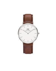 Daniel Wellington Unisex Grey Classic St. Mawes 36mm Watch
