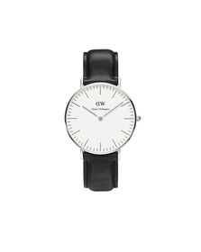 Daniel Wellington Unisex Grey Classic Sheffield 36mm Watch
