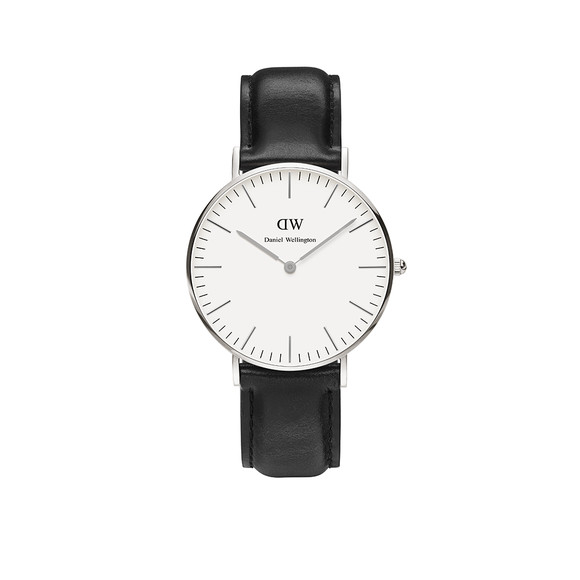 Daniel Wellington Unisex Silver Classic Sheffield 36mm Watch main image