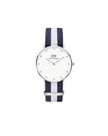 Daniel Wellington Unisex Silver Classy Glasgow 34mm Watch