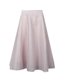 Ted Baker Womens Purple Alishia Mesh Line Full Skirt