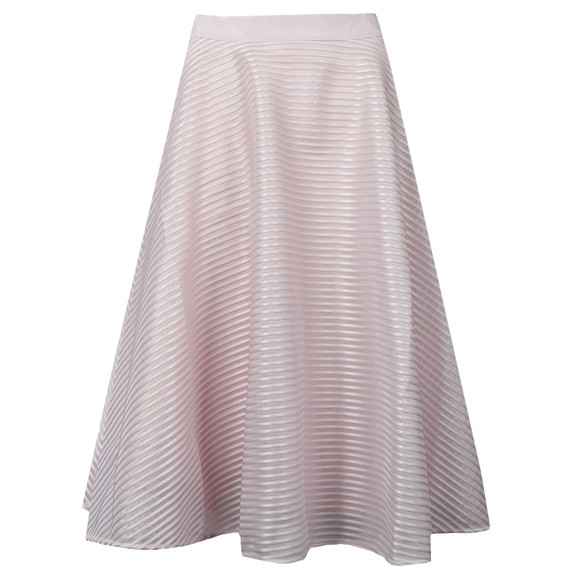 Ted Baker Womens Purple Alishia Mesh Line Full Skirt main image