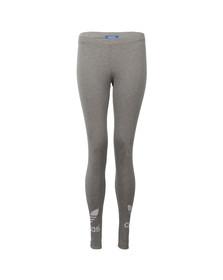 Adidas Originals Womens Grey Trefoil Legging