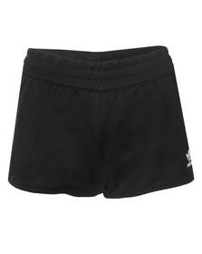 Adidas Originals Womens Black 3 Stripe Shorts