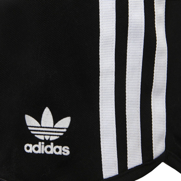 adidas Originals Womens Black 3 Stripe Shorts main image