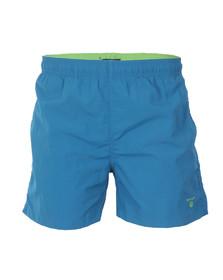 Gant Mens Green Basic Swim Short