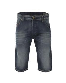 Diesel Mens Blue KROSHORT Denim Shorts