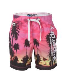 Superdry Mens Multicoloured Premium Print Neo Swim Short