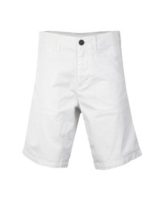 Armani Jeans Mens White C6S08 Regular Chino Short