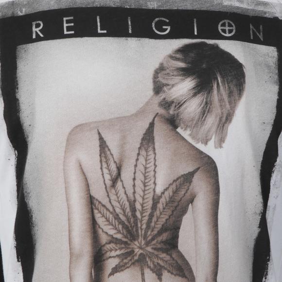 Religion Mens White Smokin Vest main image